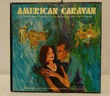 "Various Artist ""American Caravan"" 10X Vinyl Record Box Set-114 Columbia Melodies"