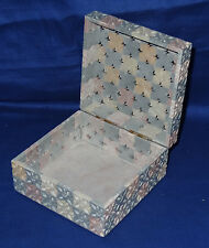 Marble Multi Design Jewelry Storage Box Handmade Marquetry Home Decor Gifts Art