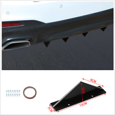 4pcs Car Rear Lip Small Wraparound Bumper Decorative Chassis Spoiler Accessories