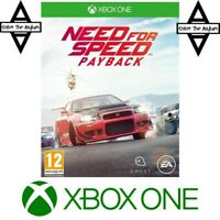 Xbox One Need for Speed Payback MINT SAME DAY DISPATCH FAST DELIVERY ROYAL MAIL