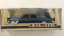 Zil 115 Limousine Grigio Metal Model 1/43 URSS Rare Vintage Model Car