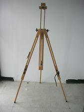 Quality Wooden Plein Air Artist Sketch Field Tripod Easel Beech Wood (Brand-New)