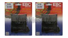YAMAHA TDM850 4TX 1996-2001 Set EBC PLAQUETTES DE FREIN AVANT FA160