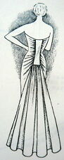 RARE VTG PATTERN DRAFTING & COUTURIER SEWING BOOK APPAREL DESIGN