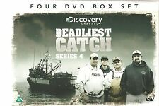 DEADLIEST CATCH COMPLETE SERIES 4 - Four DVD BOX SET - DISCOVERY CHANNEL
