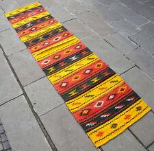 "Anatolia Turkish Runner 25"" x 105"" Hand Woven Yozgat Cotton Kelim 64 x 268 cm"