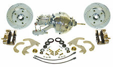 1955-57 Chevy front  Zero Off-set Disc brake kit with power booster