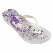 BNWT HAVAIANAS HIGH LIGHT II in White-35 CLEARANCE SALE