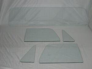 Glass Set 1968-72 Chevy El Camino 1971-72 GMC Sprint Vent Door Rear Back Clear