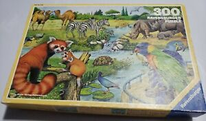 Ravensburger 300 Piece Puzzle Safari 1988 Gunther Marks Germany Complete