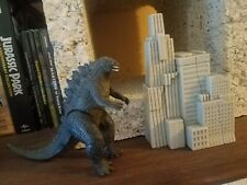 Godzilla 2014 Destruction City Play-set Loose