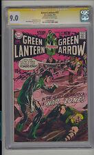 Green Lantern #77 CGC 9.0 VF/NM Unrestored DC Green Arrow SS Neal Adams OW-W Pgs