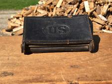 Original Mckeever Indian War Period 45/70 Cartridge Box Watervliet Arsenal