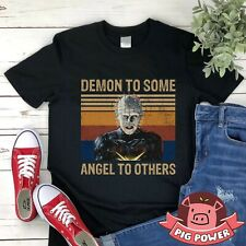 Demon To Some Angel To Others Shirt Vintage Hellraiser Pinhead T-shirt Scary Hal