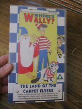 Wheres Wally The Land of Flyer Carpets  VHS Video Tape (NEW)