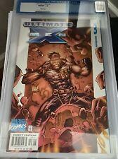 Ultimate X-Men No 3 Warzone April  2001 Comic Marvel Comics CGC Graded 9.8 -Mint