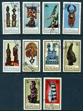 Burundi 1967 Used Lot #2, with #202-206 and C36-C40