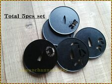 Tsuba Sword Original design Saucers Coaster Tea Coffee Special vessel 5 pcs set