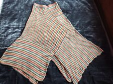 Peruvian Connection long crochet knit pima skirt XS lagenlook