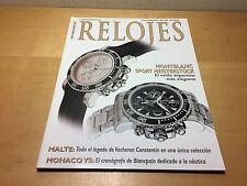 Magazine Revista RELOJES - Nº 68 Enero 2001 - Montblanc Sport Meisterstück
