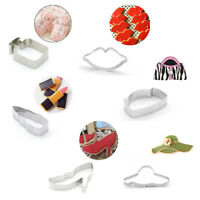 6PCS Cookie Cutters Fashion Biscuit Molds Bag Lipstick Shoe Cake Baking Moulds