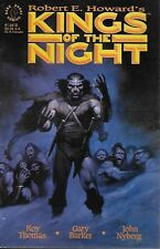Robert e. howard's Kings of the Night nº 1 Roy Thomas gary Barker & John Bolton