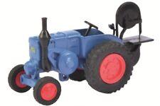 Schuco 26228 - 1/87 Lanz Bulldog Mit Säge - Blau - Neu