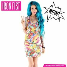 IRON FIST Hellwaiin Holiday Bodycon Dress  BNWT SZ L HARD TO FIND IN AUSTRALIA
