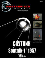 Sputnik 1, 1/6th scale replica of the first spacecraft to orbit earth