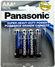Brand New Panasonic AAA Triple A Batteries heavy Duty Battery 1.5v Free Shipping