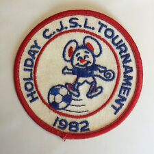 Holiday C.J.S.L. Tournament 1982 Soccer Patch