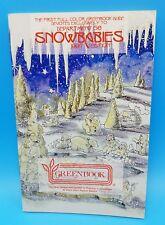 Department 56 Greenbook Snowbabies 1997 Value Guide
