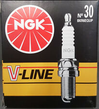 4 x NGK BKR6EQUP High Power Platin  Zündkerzen BMW E46 316 / 318 / 320 / 323 #