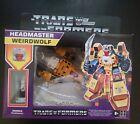 Hasbro Transformers Retro Headmaster Weirdwolf