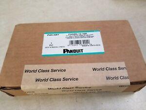 Panduit FHS9N-12-10P HD Flex Splice Cassette Preloaded W/ 12 OS2 LC Pigtails