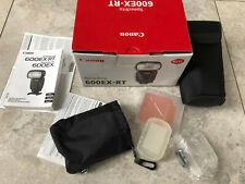 Canon Speedlite 600EX RT.