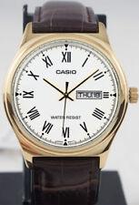 Relojes de pulsera Casio de cuero para hombre