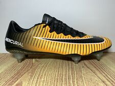 Nike Mercurial Vapor XI SG Promo Cleats Laser Orange 852609-802 Men's Size 11