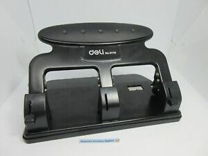 Deli Heavy Duty 3 Hole Punch 35 Sheet Cap. 7mm Hole 0116 in stock now