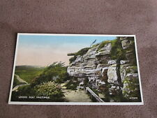 Sussex Postcard -Lovers seat  Hastings