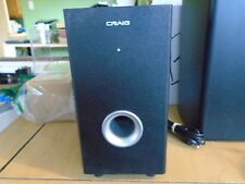 Craig 5.1 Channel Home Theater Speaker Only Black (Cht754)
