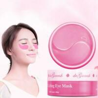 60Pcs Soothing Eye Mask Hydrogel Eye Patches Pads Dark Circles Moisturizing Care
