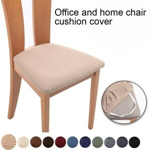 Stretch Dining Chair Seat Covers Removable Seat Cushion Slipcovers Protector us*