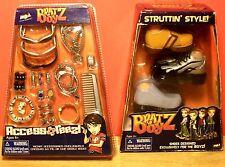 Vintage 2003 2004 Bratz Boyz Struttin Style & Access Reez Mga New