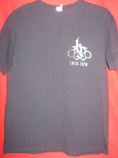 BRANTLEY GILBERT AUTHENTIC 2014 LET IT RIDE CONCERT CREW ONLY TOUR SHIRT OOP L