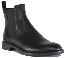 Womens Vagabond Black Leather Pull on Ankle BOOTS UK Size 5 *ex Display