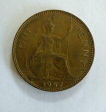 Elizabeth II Penny 1967