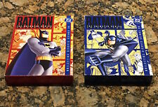 Batman: The Animated Series - Vol. 1 & 2(DVD, 2004, 8-Disc Set) VGC Free Ship