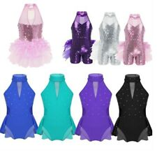 Toddler Girls Ballet Costume Tutu Leotard Dance Gymnastic Dress Ballerina Skirt