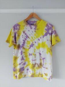 Gildan Tie Dye T-shirt BNWT Size Large youth Small Adult